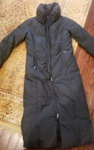 Via Spiga long puffer down coat jacket BRK ZIP S